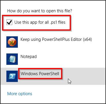 Fix Problem Where Windows PowerShell Cannot Run Script Whose