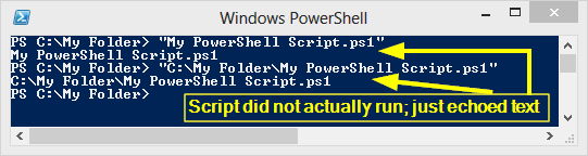 Fix Problem Where Windows PowerShell Cannot Run Script Whose