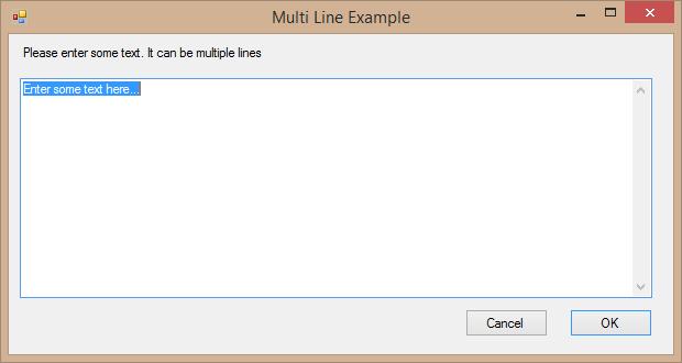 PowerShell Multi-Line Input Box Dialog, Open File Dialog