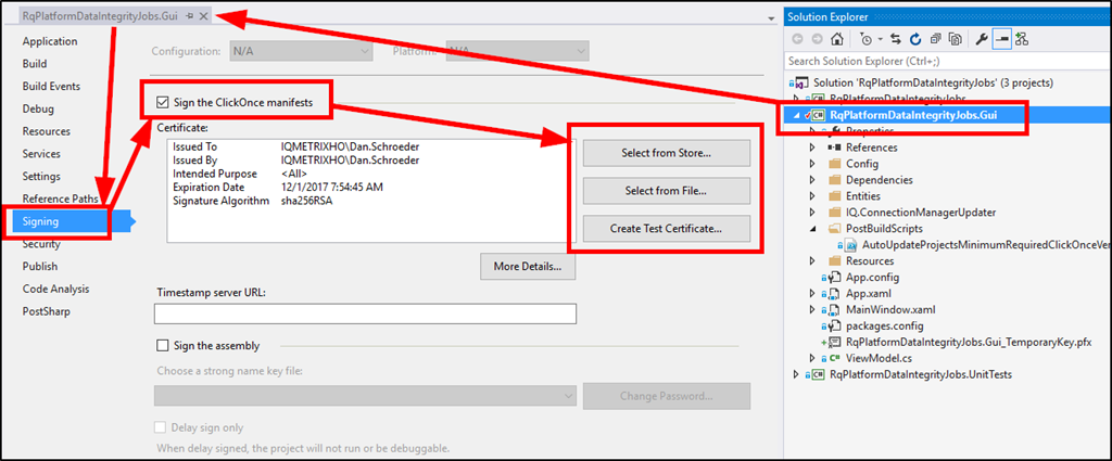 Creating A  PFX Certificate And Applying It On The Build